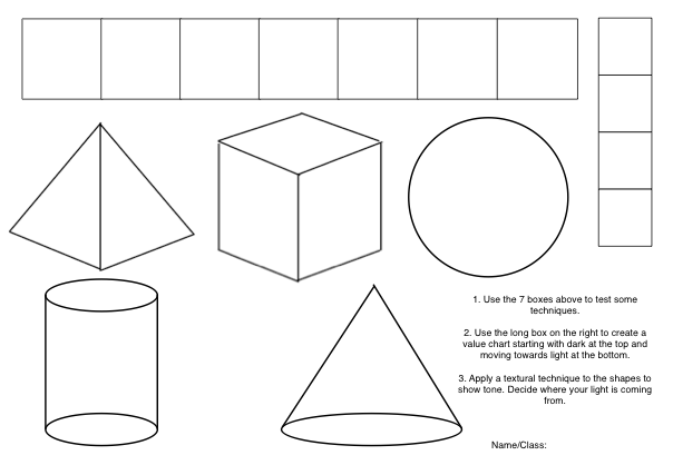 Drawing With Lines And Shapes : Scale examples in art images
