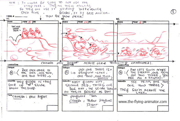 Digital Storyboard Templates Digital Production Storyboard
