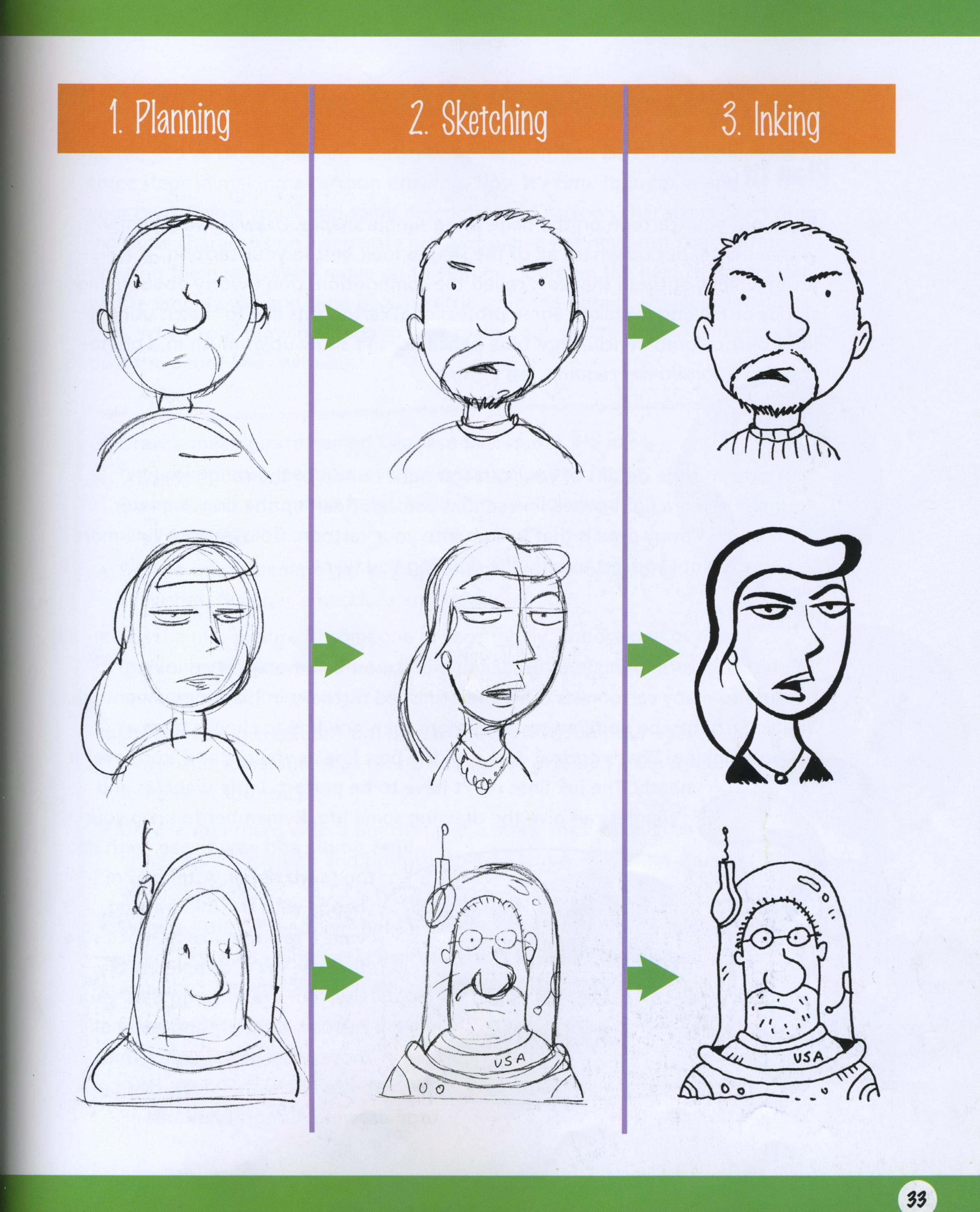 curkovicartunits digital character illustration